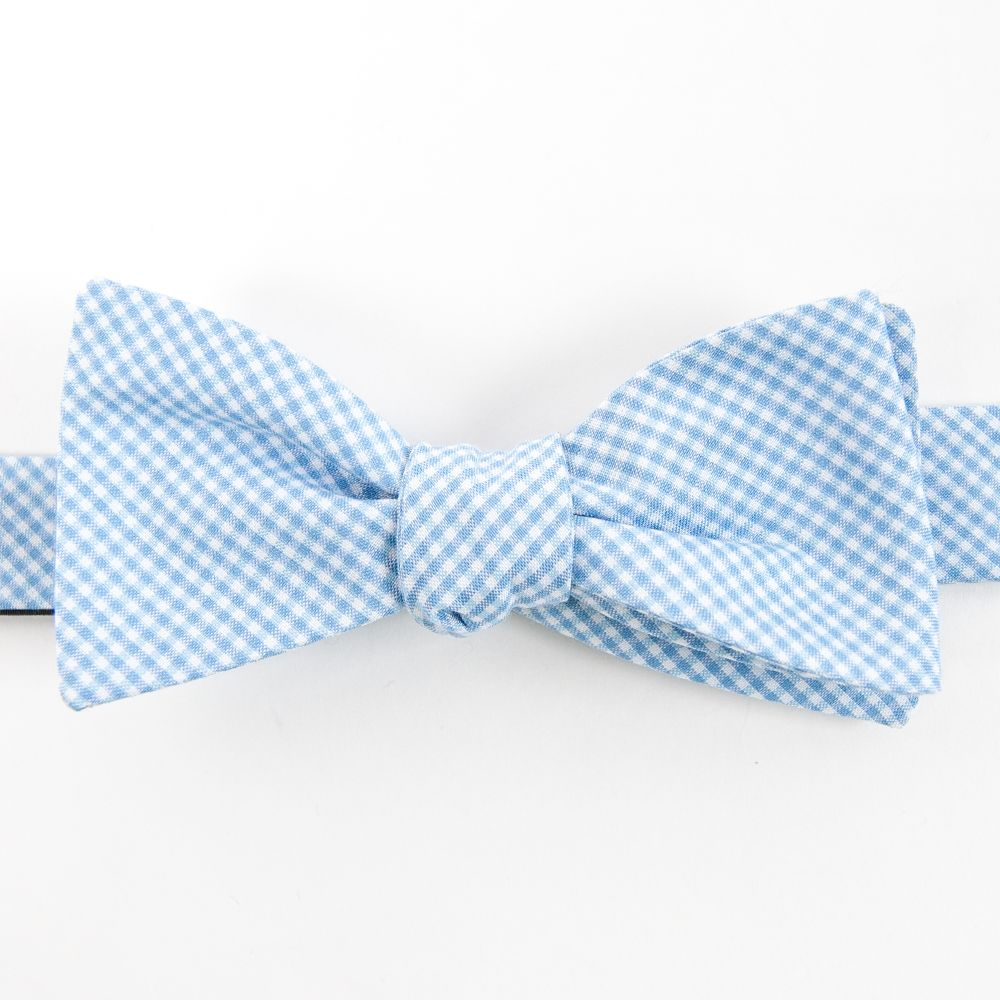 Collared Greens Blue Barbaro Bow Tie