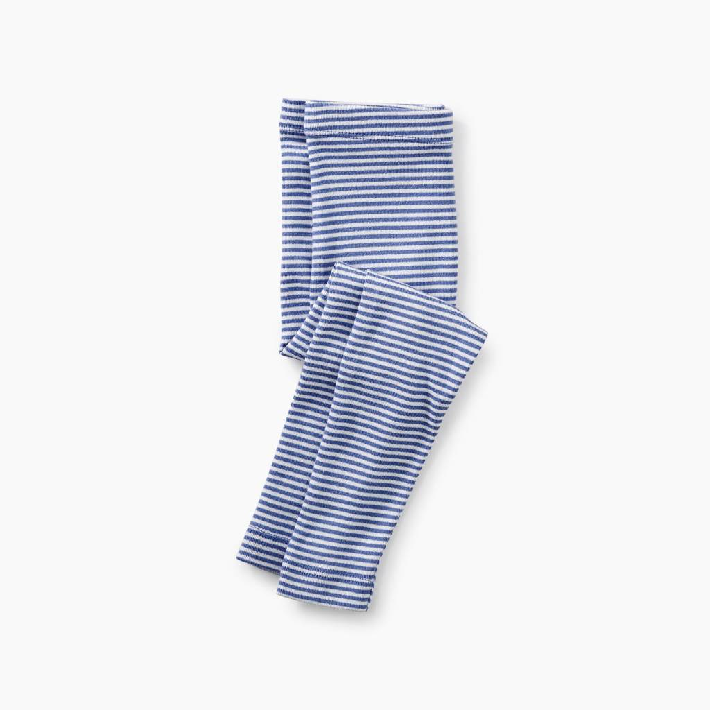 Tea Collection Blue Stripe Baby Leggings
