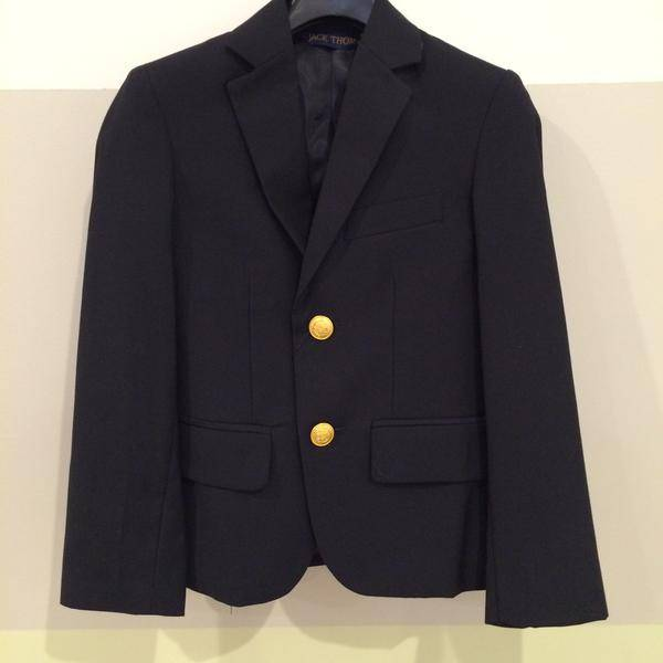 Jack Thomas Boys Navy Blazer