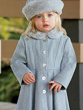 Sarah Louise Grey Coat and Hat