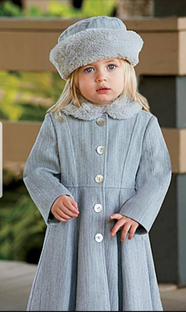 Sarah Louise Grey Coat and Hat