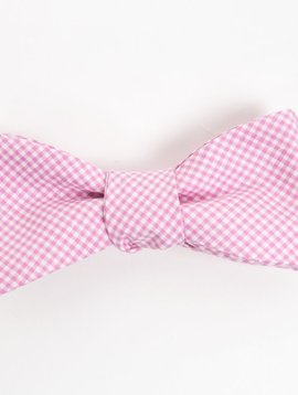 Collared Greens Pink Barbaro Bow Tie