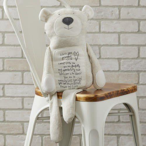 demdaco Poetic Threads Bear