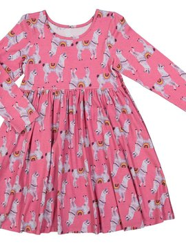 Pink Chicken Rapture Rose Llama Steph Dress