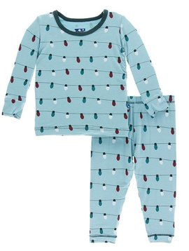 Kickee Pants Holiday Lights Pajamas