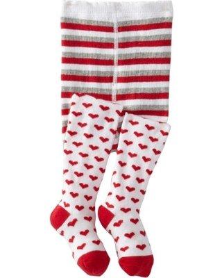 Jefferies Socks Heart Tights
