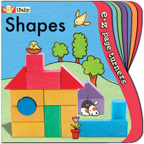 Innovative Kids Shapes EZ Turn Book