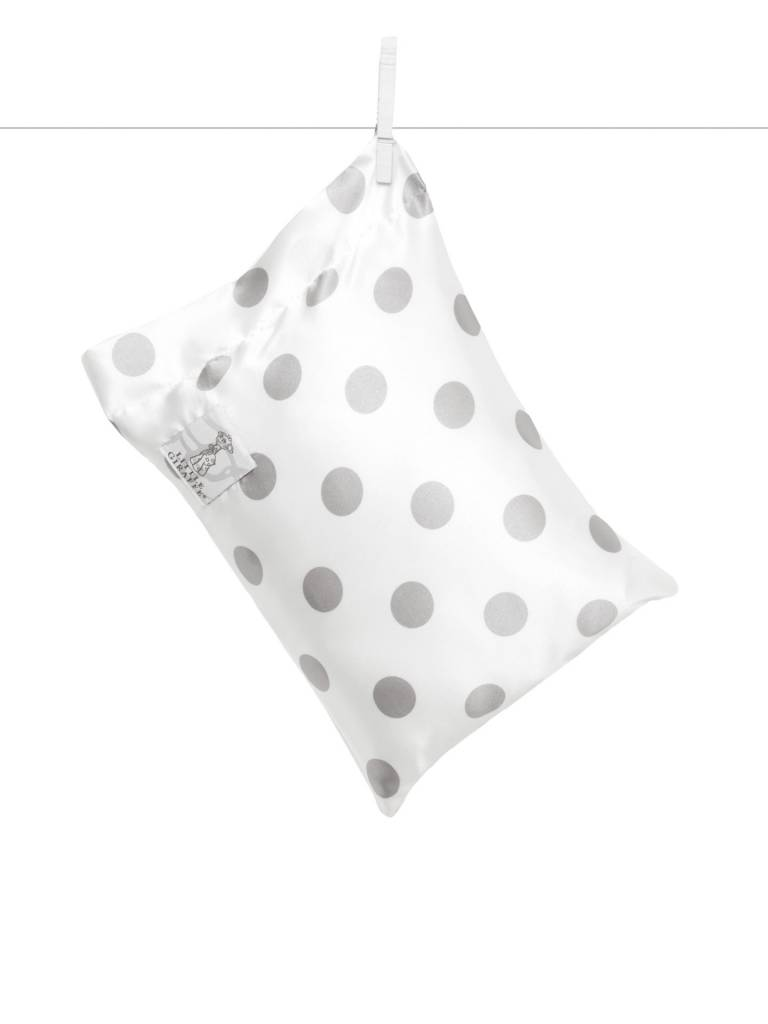 Little Giraffe New Dot Satin Nap Pillow