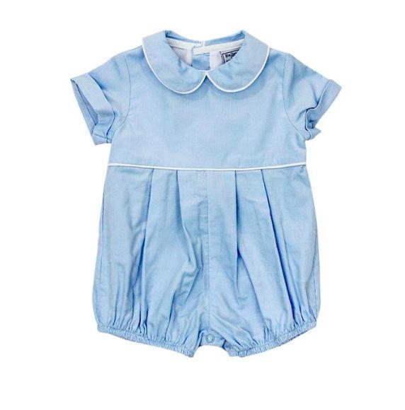 Bailey Boys Light Blue Corduroy Dressy Bubble