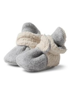 Zutano Fleece Furry Bootie w Gripper