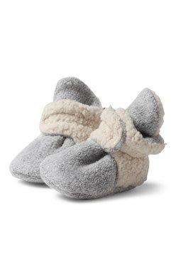 Zutano Fleece Furry Bootie w Gripper