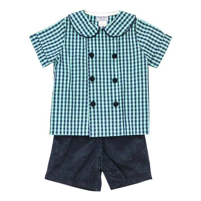 Bailey Boys Moonlight Short Set with Tab