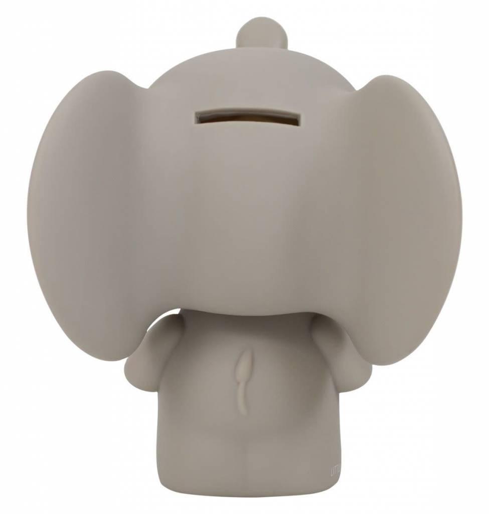 little lovely Grey Elephant Money Box