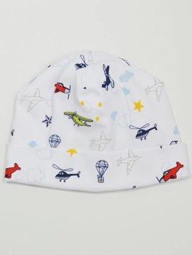 Kissy Kissy Aviators Print Hat