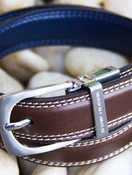 beyond creations Reversible Leather Belt