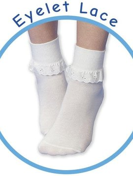 Jefferies Socks Eyelet Turndown