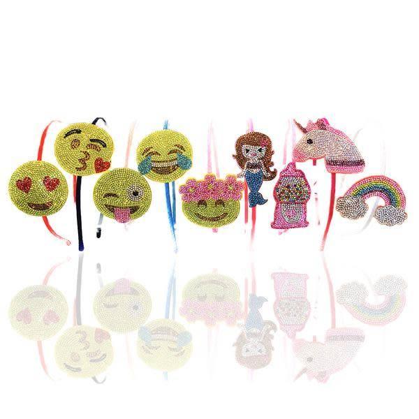 Bari Lynn Crystal Emoji Headband