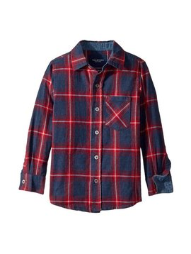 toobydoo Blue/Red Check Flannel Shirt