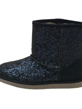 L'amour Shoes Glitter Fur Lined Boot