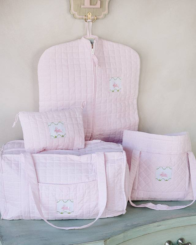 Little English Quilted Luggage Set