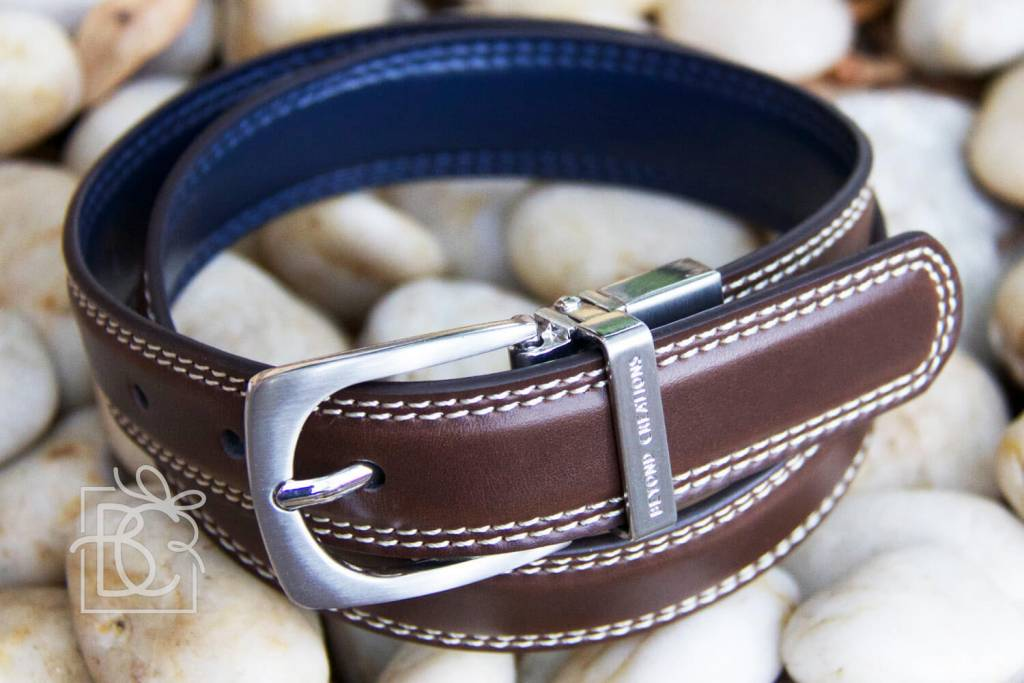 beyond creations Double Leather Belt