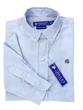 J. Bailey Blue Oxford Button Down