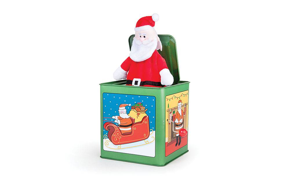 Jack Rabbit Creations Santa Jack in the Box