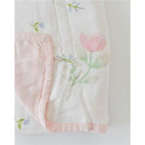 Little Unicorn Cotton Hooded Towel and Cloth Set