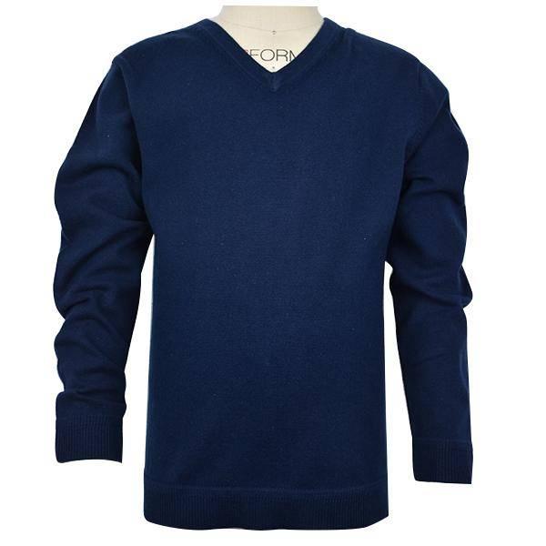E.L.K. Navy V-Neck Sweater