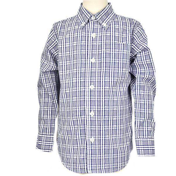 E.L.K. Navy Glen Plaid Shirt