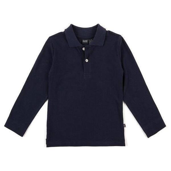 E.L.K. Solid Long Sleeve Polo