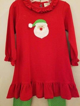 Baby Luigi Santa Dress Set