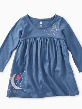Tea Collection Celestial Dreams Graphic Dress