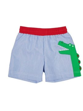 Florence Eiseman Swim Trunk with Alligator