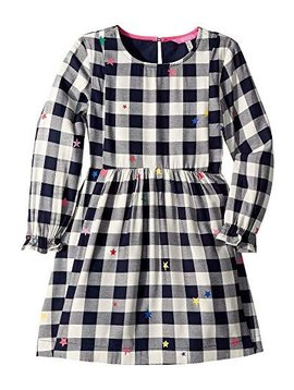 Joules Check Star Woven Dress