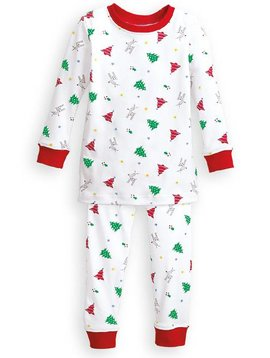 Bella Bliss Printed Pima Jammies