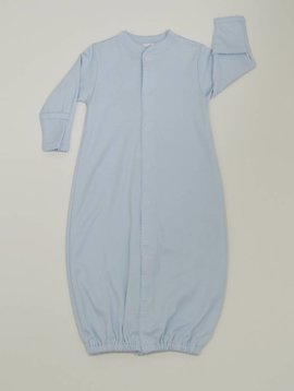 Kissy Kissy Blue Gown with Blue Trim Preemie