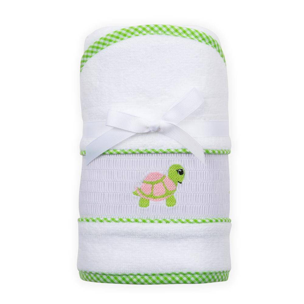 Mainstreet Collection Smocked Hood Towel