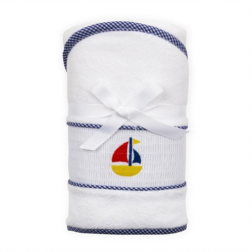 Mainstreet Collection Smocked Hood Towel