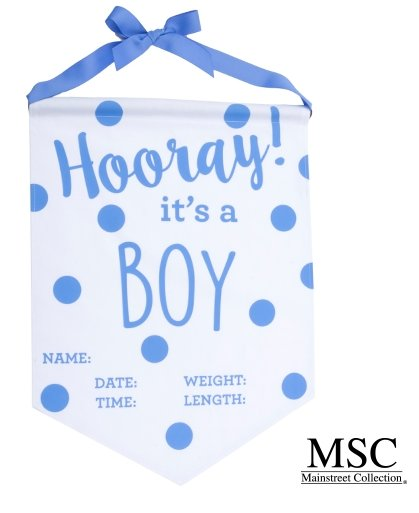 Mainstreet Collection Baby Banner
