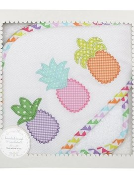 3 Marthas Pinapple Towel and Washcloth Set