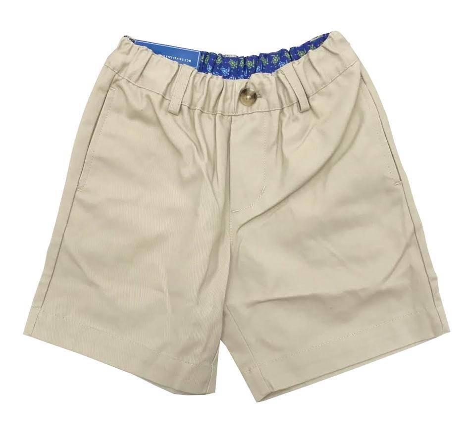 J. Bailey Khaki Twill Shorts (youth)