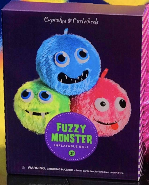 cupcakes & cartwheels Inflatable Monster Ball