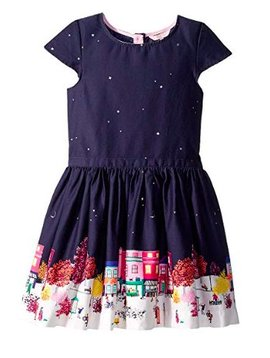 Joules Navy Party Dress