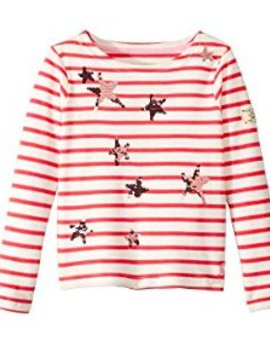 Joules Pink Star Harbour Top
