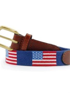 Smathers & Branson Needlepoint Belt
