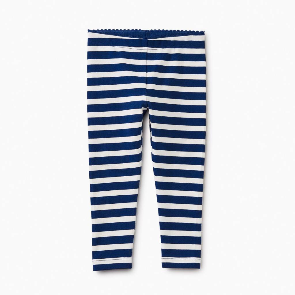 Tea Collection Nightfall Striped Baby Leggings
