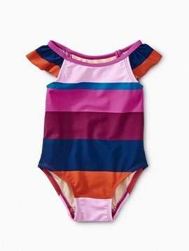 Tea Collection Snapdragon Cabana Stripe Swimsuit