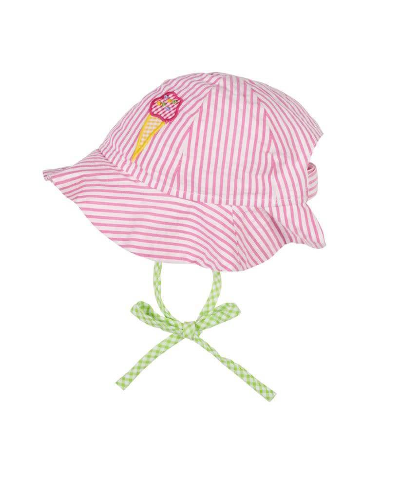 Florence Eiseman Seersucker Ice Cream Hat