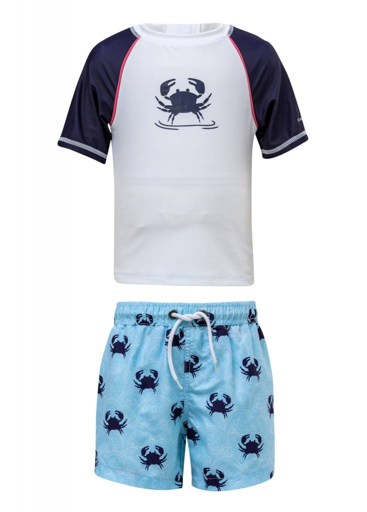 Snapper Rock Blue Crab Baby SS Set